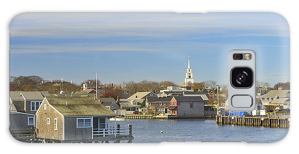 View Of Nantucket From The Harbor Galaxy Case
