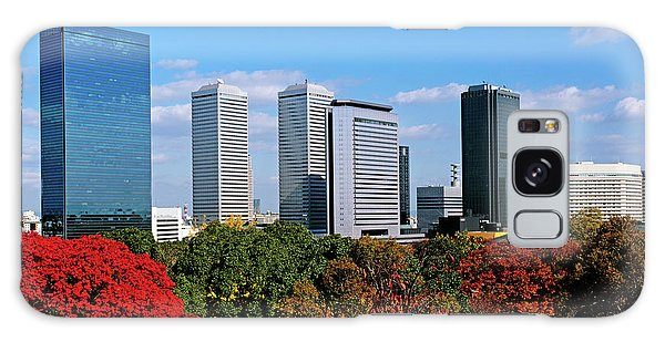 Kansai Galaxy Case - View Of Osaka Business Park In Autumn by Panoramic Images