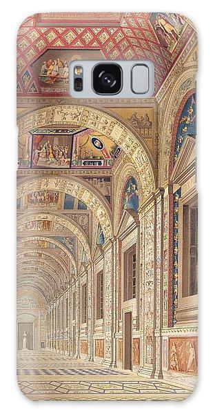 Decorative Galaxy Case - View Of The Second Floor Loggia by Italian School