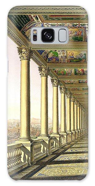 Decorative Galaxy Case - View Of The Third Floor Loggia by Italian School