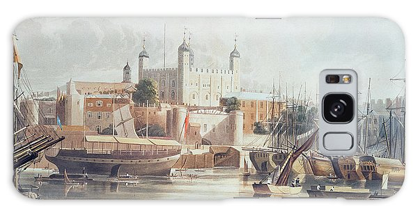 Bay Galaxy Case - View Of The Tower Of London by John Gendall