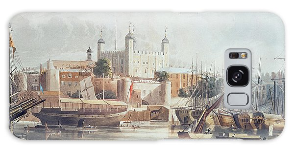View Of The Tower Of London Galaxy Case