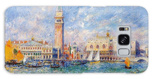 Art Institute Galaxy Case - View Of Venice by Pierre-Auguste Renoir