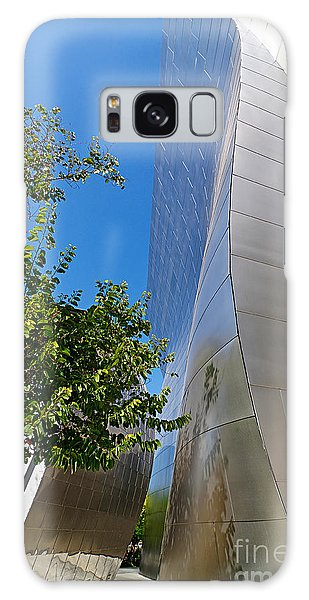 Walt Disney Concert Hall Galaxy Case - View Of Walt Disney Concert Hall In Downtown Los Angeles by Jamie Pham