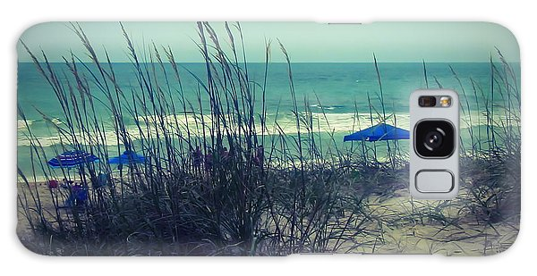 View Thru The Beach Grass Galaxy Case