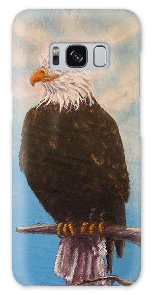 Vigilant Eagle Galaxy Case by Dan Wagner