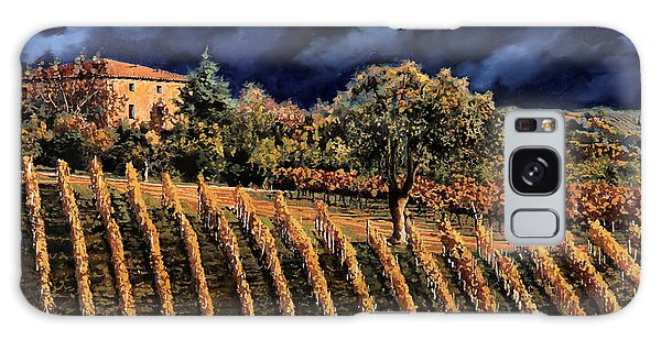 Grape Galaxy Case - Vigne Orizzontali by Guido Borelli