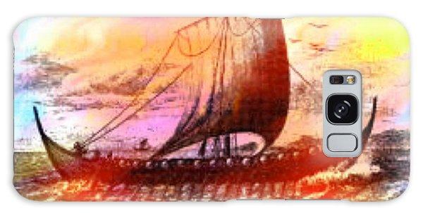 Viking Ship Galaxy Case
