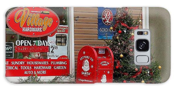Village Christmas Galaxy Case