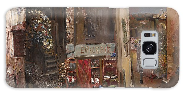 Russian Impressionism Galaxy Case - Village Grocer by Celestial Images