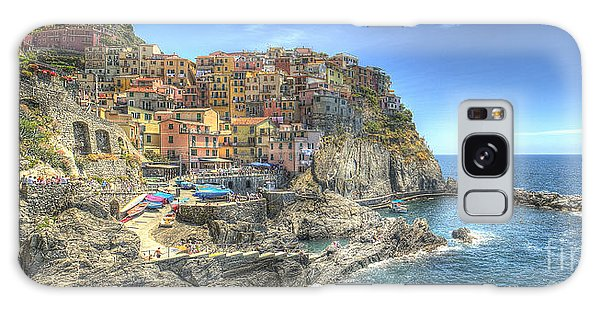 Village Of Manarola Galaxy Case
