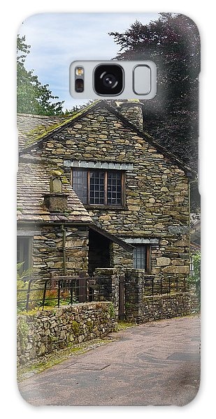 Village Street Grasmere Galaxy Case by Jane McIlroy