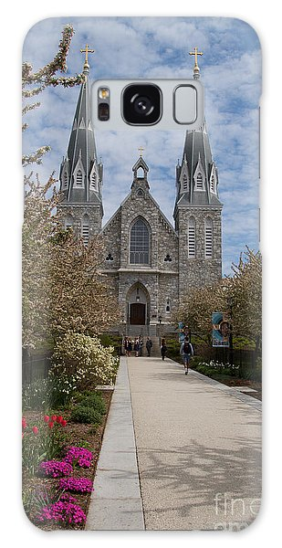 Villanova University Main Chapel  Galaxy Case by William Norton