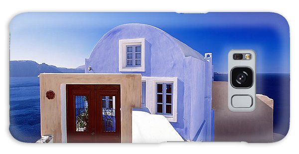 Villas Overlooking The Aegean Sea Galaxy Case