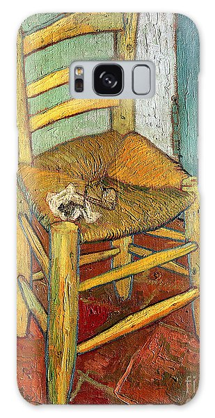 Wall Paper Galaxy Case - Vincent's Chair 1888 by Vincent van Gogh