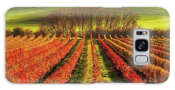 Countryside Galaxy Case - Vine-growing by Piotr Krol (bax)