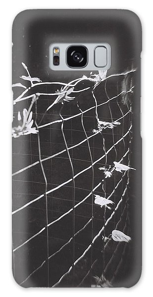 Vine On A Fence Galaxy Case