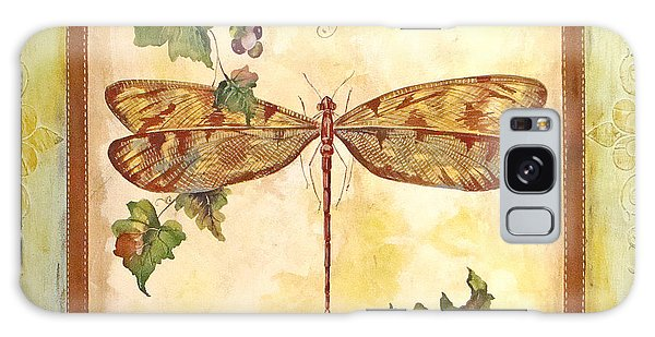 Vineyard Dragonfly Galaxy Case by Jean Plout