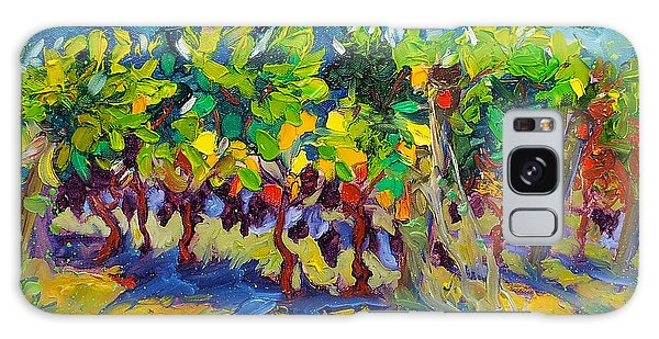 Vineyard Harvest Oil Painting Galaxy Case