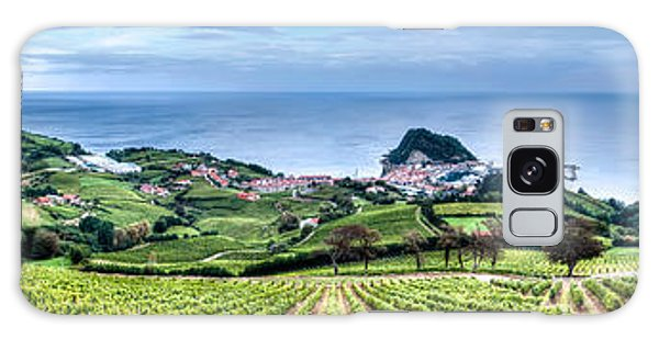 Vineyards By The Sea Galaxy Case
