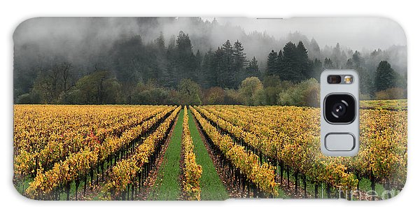 Vineyard Russian River Wine Country Sonoma County California Galaxy Case by Wernher Krutein