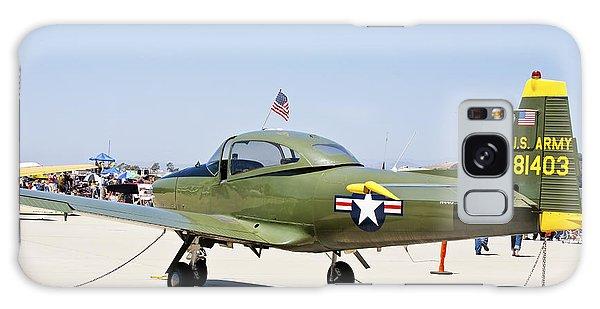 Vintage Aircraft 4 Galaxy Case