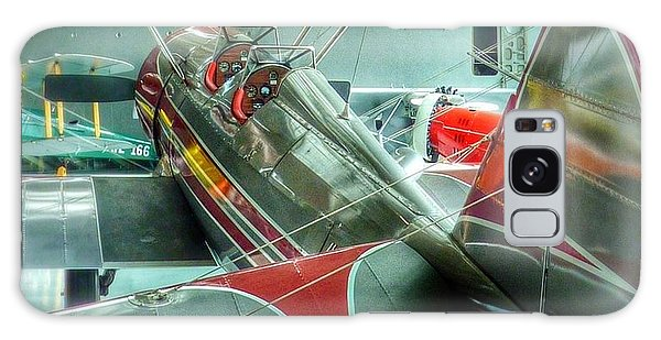 Vintage Airplane Comparison Galaxy Case by Susan Garren