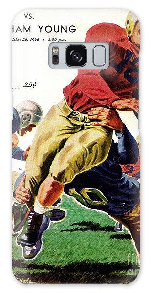 Vintage American Football Poster Galaxy Case