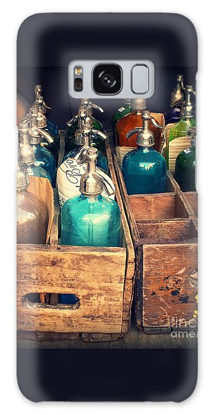 Vintage Antique Seltzer Bottles Galaxy Case by Miriam Danar