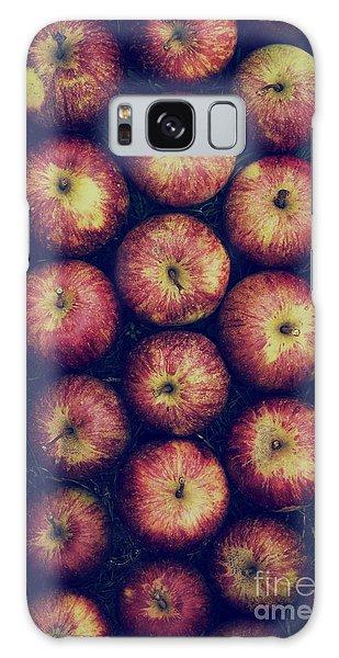 Vintage Apples Galaxy Case by Tim Gainey