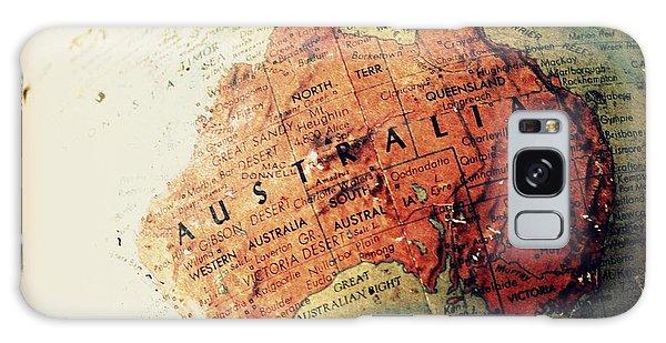 Vintage Australia Galaxy Case