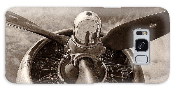 Airplane Galaxy Case - Vintage B-17 by Adam Romanowicz