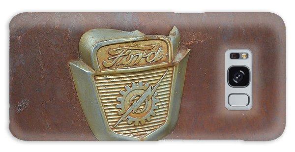Vintage Badge Galaxy Case