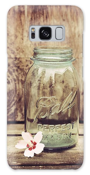 Vintage Ball Mason Jar Galaxy Case