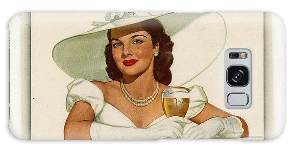 Vintage Ballintine Beer Ad Galaxy Case