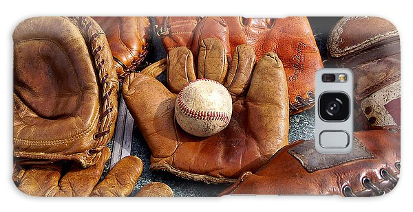 Vintage Baseball Galaxy Case by Art Block Collections