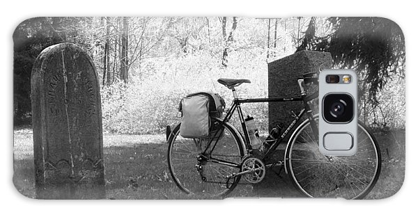 Vintage Bicycle In Graveyard Galaxy Case