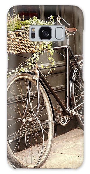 Bicycle Galaxy Case - Vintage Bicycle by Jane Rix