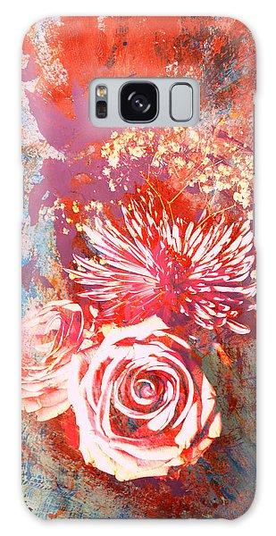 Vintage Bouquet Art Galaxy Case