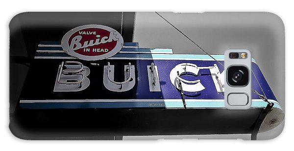 Vintage Buick Sign Galaxy Case by Michael White