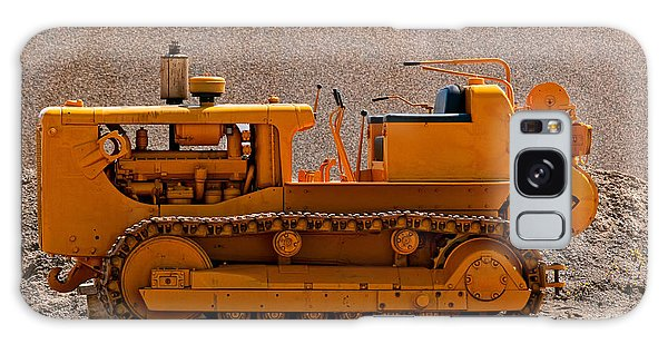 Vintage Bulldozer Galaxy Case