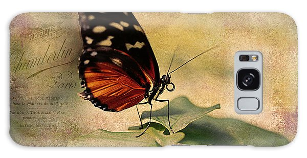 Vintage Butterfly Card Galaxy Case