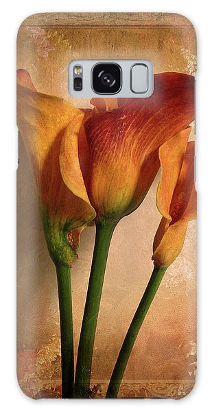 Floral Galaxy Case - Vintage Calla Lily by Jessica Jenney