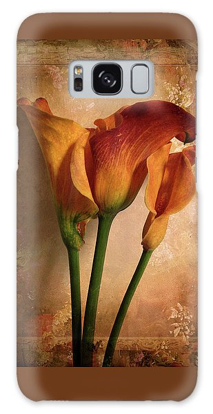 Galaxy Case featuring the photograph Vintage Calla Lily by Jessica Jenney