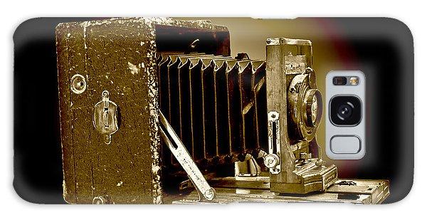 Vintage Camera In Sepia Tones Galaxy Case