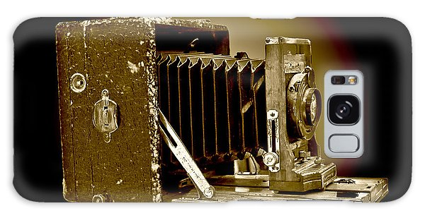 Vintage Camera In Sepia Tones Galaxy Case