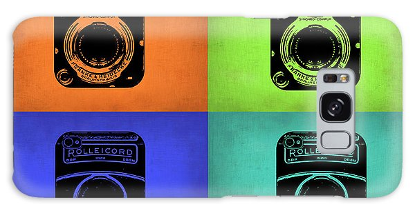 Vintage Camera Galaxy Case - Vintage Camera Pop Art 1 by Naxart Studio