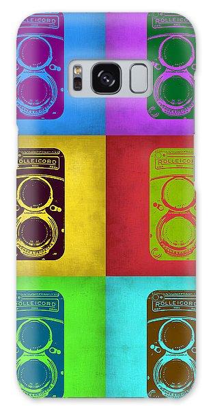 Camera Galaxy Case - Vintage Camera Pop Art 2 by Naxart Studio