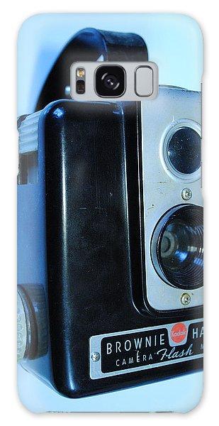Vintage Camera Galaxy Case by Robert  Moss