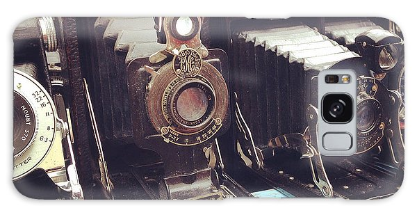Vintage Camera Galaxy Case - Vintage Cameras by Sarah Coppola
